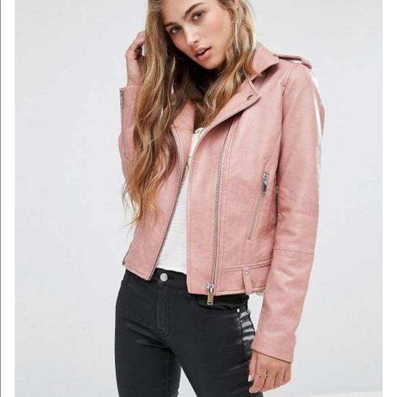 new product choose latest choose authentic Mango Faux leather biker jacket